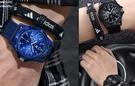 手錶流行男錶夜光正韓簡約休閒男生手錶男中學生青少年潮流時尚防水尼龍帶男錶