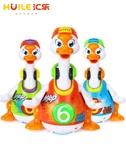 玩具 匯樂828搖擺鵝兒童電動抖音玩具會說話會唱歌的跳舞鴨子1-2歲男孩 城市科技DF