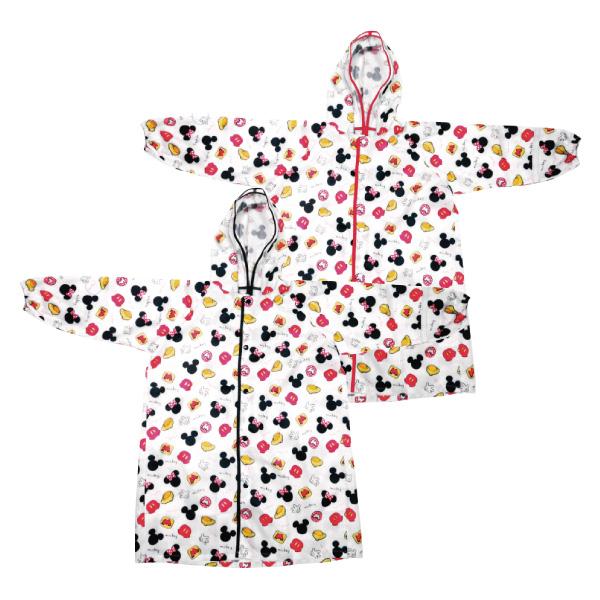 迪士尼 Disney 輕量幼兒雨衣(長版-L)(2款可選)