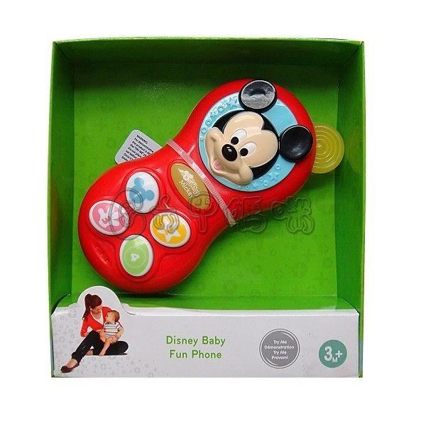 迪士尼嬰兒米奇電話【六甲媽咪】