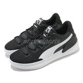 Puma 籃球鞋 Clyde Hardwood Team 男鞋 白 黑 低筒 彪馬 運動鞋【ACS】 19445402