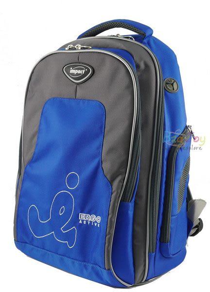 IMPACT-怡寶成長型舒適護脊書包-寶藍(IM00081RB)