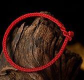結繩記本命年紅繩男女簡約手繩腳繩手工編織手錬腳錬 艾尚旗艦店