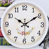 掛鐘 歐式大尺寸夜光卡通石英鐘時鐘歐式創意掛表 KB3372【野之旅】TW
