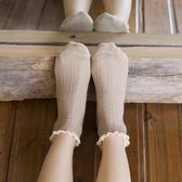 短襪日系蕾絲花邊襪純棉短筒襪春秋低筒