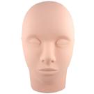 【美容乙級考試.TNL美睫檢定】WomanHouse 美容練習用按摩人頭 半頭.半臉(單入) [88587]
