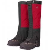 OR Crocodile Gaiters GTX 防水透氣經典鱷魚綁腿 紅/黑
