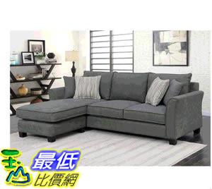 [COSCO代購] W117553 Bainbridge L型布沙發 Bainbridge Fabric Sectional