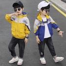 秋季中大童百搭夾克外套 時尚休閒男童外套 男孩棒球服男童外套 風衣潮流外套 男童外套韓版外套
