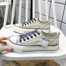 帆布鞋 2021春季厚底帆布鞋女2021年新款春秋爆款韓版ulzzang百搭板鞋子 嬡孕哺