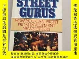 二手書博民逛書店THE罕見WALL STREET GURUS :HOW YOU CAN PROFIT FROM INVESTMEN