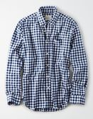 (BJGO) AMERICAN EAGLE_男裝_AE PLAID POPLIN BUTTON-DOWN SHIRT美國AE格紋長袖襯衫 最新代購