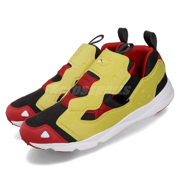 Reebok 休閒鞋 Furylite 3.0 黑 黃 男鞋 運動鞋 【ACS】 FU9080