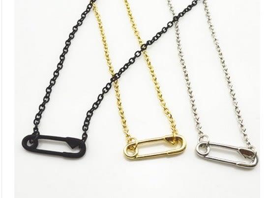 【找到自己】 小單品 迴紋針 項鍊 歐美系列單品