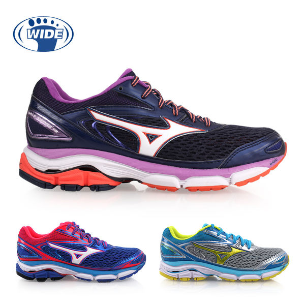MIZUNO WIDE WAVE INSPIRE 13 女慢跑鞋( 免運 美津濃≡排汗專家≡