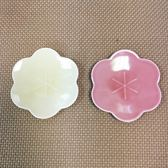日本陶瓷【小田陶器】黃梅盤11cm 2色可選 花卉瓷盤 餐盤 瓷盤 陶瓷 餐具 盤子
