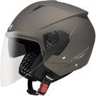 【東門城】ASTONE RST 素色(平黑銀) 半罩式安全帽 雙鏡片