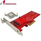 Awesome M.2 NVMe高功率SSD轉PCIe 3.0x4轉接卡 AWD-DT-129A