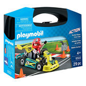 playmobil 帶著走提盒 卡丁車_PM09322