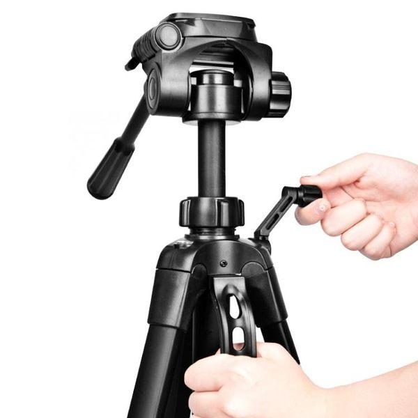 單反相機三腳架攝影攝像便攜微單三角架手機自拍直播支架佳能尼康拍照錄像戶外主播 LX 韓流時裳