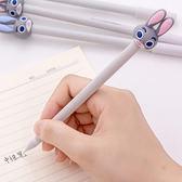 【BlueCat】長耳藍眼兔造型水性筆 中性筆
