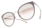 EMPORIO ARMANI 太陽眼鏡 EA2063 32178Z ( 粉紫-淡白水銀漸層紫鏡片)個性時尚貓眼款 # 金橘眼鏡
