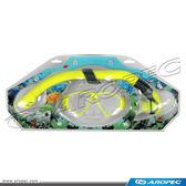兒童用矽膠面鏡+呼吸管組合 (半乾式)     CO-C36212     【AROPEC】