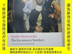 二手書博民逛書店The罕見Karamazov Brothers A new translation by lgnat Avsey(
