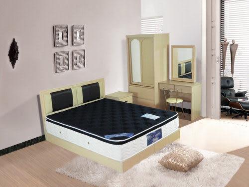 床墊 三線冷凝膠6尺雙人加大聯結式Q床【時尚屋】