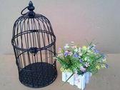 鳥籠婚慶櫥窗 擺件婚禮道具小鳥籠
