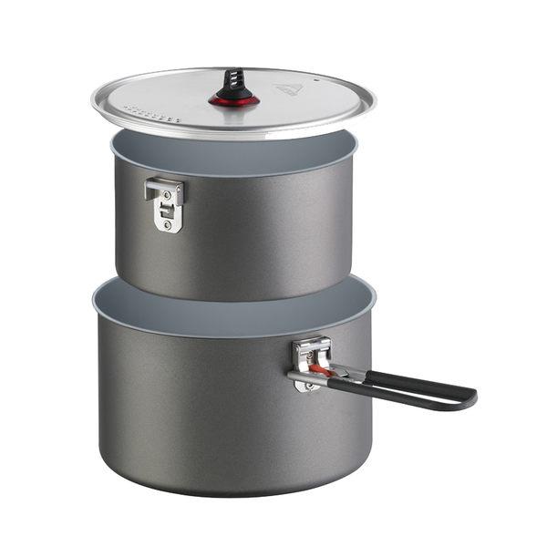 MSR Ceramic 陶瓷硬鋁不沾鍋組 2.5L+1.5L