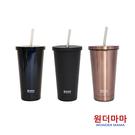 【韓國WonderMama】316不鏽鋼保溫保冷吸管杯