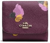 COACH 女士時尚皮質短款錢包錢夾