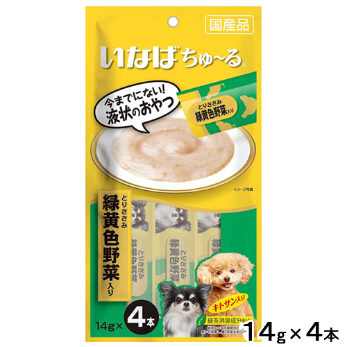 【寵物王國】日本INABA/汪啾嚕 肉泥 14g*4入