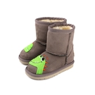 CONNIFE 童鞋 雪靴 短靴 可可色 小恐龍 Q068-03 no520