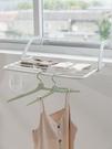 可折疊可掛晾曬架陽台外晾衣架多功能曬鞋架框窗台窗外置物架神器YJT 【全館免運】