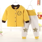 嬰兒長袖套裝 鋪棉保暖內衣套組
