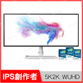 微星 msi Prestige PS341WU 34型 21:9 IPS創作者螢幕【34吋/5K2K WUHD/HDR 600/DP+HDMIx2+Type-C/Buy3c奇展】