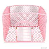 寵物籠 狗狗圍欄寵物柵欄室內狗籠子泰迪柯基中型小型犬隔離門防護欄狗窩  居優佳品DF