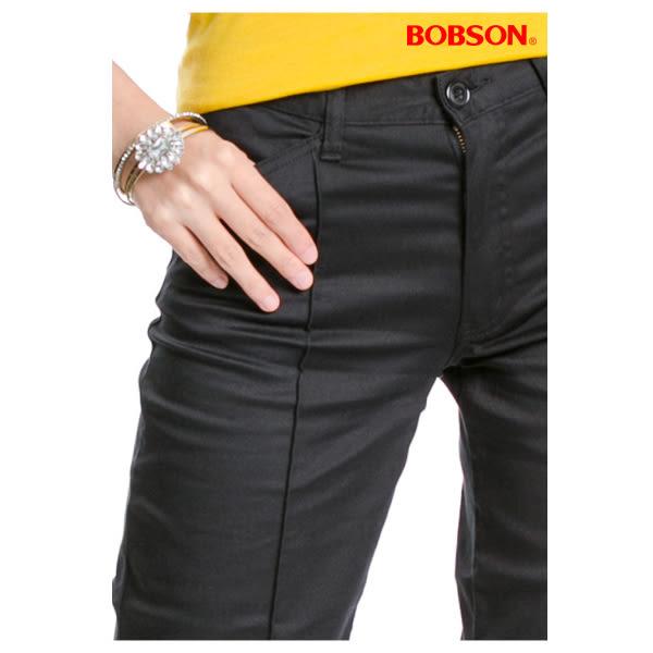 BOBSON 女款直筒七分褲(115-88)