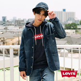 Levis 男款 復古工程師牛仔外套 / Fleece機能保暖 / 中長版