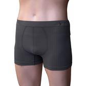 【皇家竹炭】竹炭纖維男用平口一體成型褲