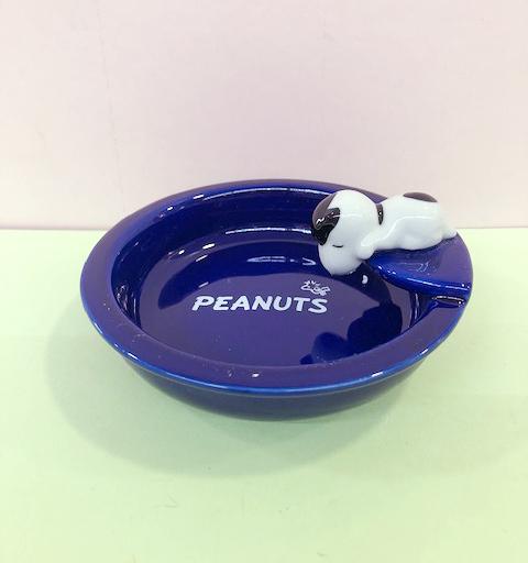 【震撼精品百貨】史奴比Peanuts Snoopy ~SNOOPY杯緣碗/盤-藍#84970
