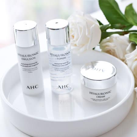 韓國 AHC 神仙水乳旅行3件組 神仙水 化妝水 乳液 面霜 B5 玻尿酸 旅行組 保養組