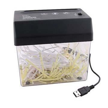 桌上型迷你USB電動碎紙機