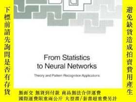 二手書博民逛書店From罕見Statistics To Neural Netwo