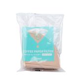 Tiamo V01圓錐咖啡濾紙1-2人 100入 (無漂白)(袋裝)