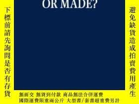 二手書博民逛書店Begotten罕見Or Made?: Human Procre