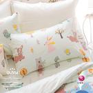 6x7特大雙人床包美式枕套三件組【不含被套】【 DR920 小森林 綠 】100% 300織精梳純棉 OLIVIA