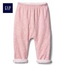 Gap女嬰兒 寶寶新生兒褲子屁屁褲 592526-俏皮粉色